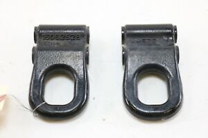 2003 2009 Hummer H2 Awd Front Tow Hooks Hook Left Right Pair Set Of 2 Oem