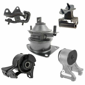 Engine Motor Transmission Mount 5pcs M1038 For 2007 Honda Odyssey Lx Ex 3 5l