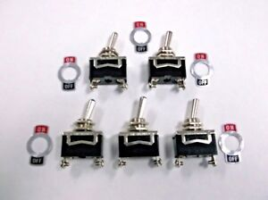 Special Offer 5 Bbt Brand On Off 10 A 12 V Vintage Type Toggle Switches