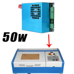 110 220v 40w Co2 Laser Power Supply Engraving Engraver Cutter Machine
