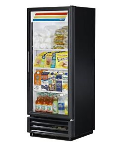 True Refrigerated Merchandiser One Section True Standard Look Black Finish