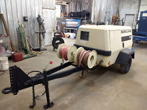 Ingersoll Rand 130 Cfm Towable Diesel Air Compressor Only 693 Original Hours