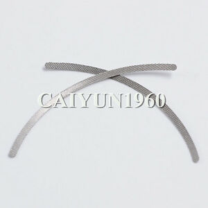 Dental 50 100pks Dia 2mm 1 2mm Orthodontic Universal Lingual Retainers Mesh Base