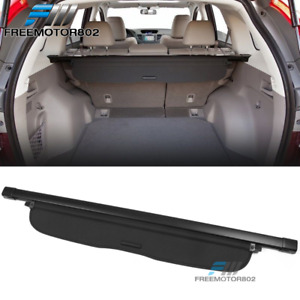 Fit 12 16 Honda Crv Oe Style Retractable Cargo Security Trunk Cover Black