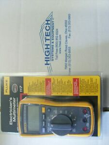 Fluke 117 Electrician s Digital Multimeter With Non contact Voltage New