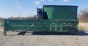 Mcclain Trash Compactor Mag6 6 Yard With Bin Dumping Attachment