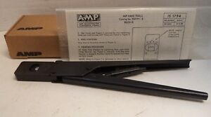 Te Connectivity Amp Ratcheting Hand Crimping Tool P n 90013 2