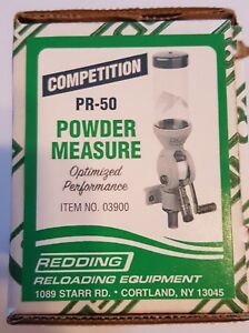 03900 REDDING PR-50 COMPETITION POWDER MEASURE - FREE SHIPPING - NEW FOR 2018!