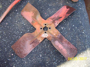 Vintage Allis Chalmers D 15 Diesel Tractor engine Fan 1961