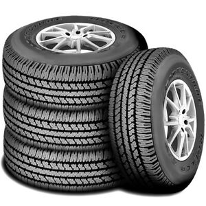 4 New 265 65r17 112s Bridgestone Dueler A t 693 Iii At All Terrain Tires