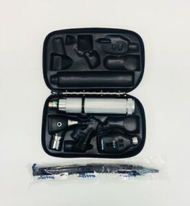 Welch Allyn 3 5v Otoscope 25020 ophthalmoscope 11720 Diagnostic Set