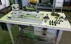 Levin 4 X 9 5 Instrument Makers Lathe Variable Speed turret Head