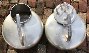 2 Surge Milker Stainless Steel Containers By Babson Bros