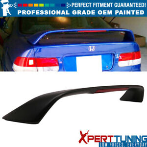Fits 96 00 Honda Civic 2dr Coupe 3rd Brake Led Trunk Spoiler Oem Painted Color