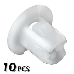 10pcs Nylon Headliner Nut Clip Screw Grommet For 2002 2007 Mitsubishi Lancer 06