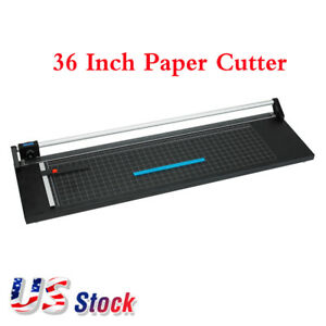 Usa Stock 36 Inch Precision Rotary Photo Paper Cutter Paper Trimmer