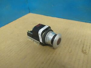Allen Bradley Red Push Button 800t fxp16 A1 Ser T 120v Volts 40171 002 01 Used