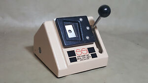 Heavy Duty Id Badge Pvc Cards Cutter Paper Card Punch Die Cutter 1 x1 5