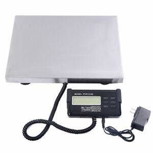 440 Lbs X 0 1 Lb Digital Floor Bench Scale Kg lb oz 200kg Platform Postal