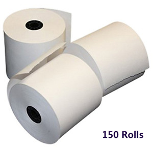 150 Rolls 2 1 4 X 50 Thermal Receipt Credit Card Paper Ingenico Ict220 Ict250