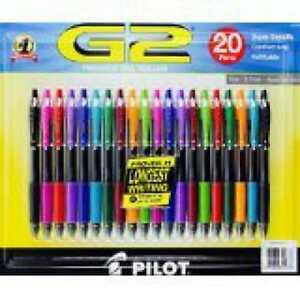 G2 Premium Gel Roller Pen 20 Count