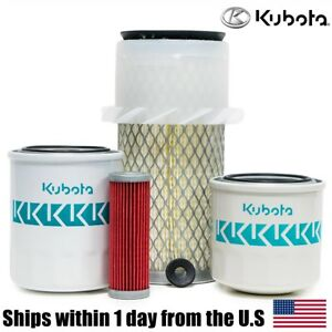 Genuine Oem Kubota B6200 B7100 B7200 Hst Filter Maintenance Kit