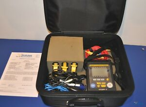 Yokogawa Cw121 Clamp on Power Quality Meter With Clamps Leads Nist Calibrated