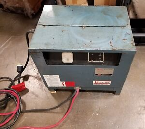 Hertner Battery Charger 3tn12 680 Type Battery L a 24 Volt Charger 12 Cell