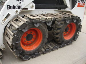 10 Over The Tire Steel Skid Steer Tracks For Mustang 2041 2042 2044