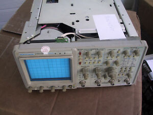 Low Hours Refurbed calibrated Tektronix 2465b 400mhz 4ch Portable Oscilloscope