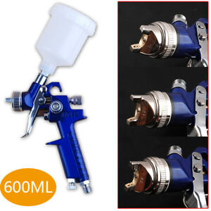 Sprayer Gravity Feed Auto Painting Air Paint Spray Gun Hvlp 1 4 1 7 2 0mm