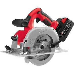 Milwaukee 0730 22 V28 Circular Saw W Battery