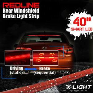 Redline Universal 40 Roofline Led Third Brake Light Kit Above Rear Windshield