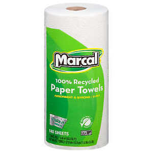 Marcal Premium Giant Paper Towel Rolls 2 ply 12 count