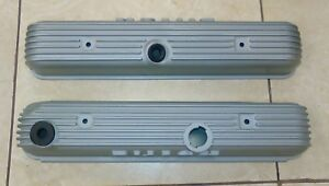 1966 Original Buick Riviera Gs Aluminum Nailhead Finned Valve Covers