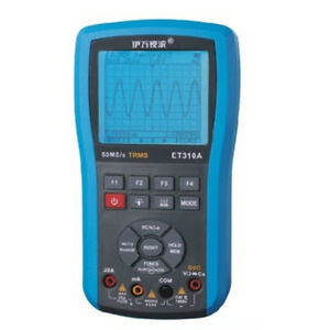 1pc New Et310a Handheld Oscilloscope Scopemeter Digital Multimeter 10mhz 50msa s