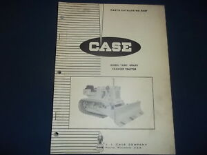Case 310e Crawler Tractor Dozer Parts Manual Book Catalog