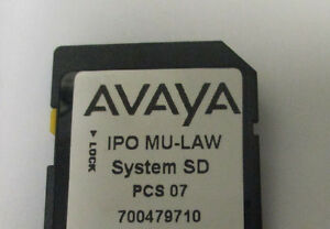 Avaya Ip 500 V2 Sd 700479710 4 Channel Voice Networking 10 Seat Office Worker