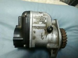 Fairbanks Morse Type Fm J Magneto For Parts repair Wisconsin