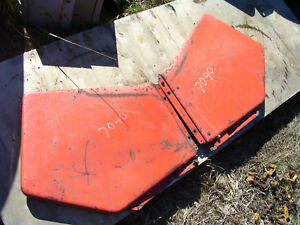 Vintage Allis Chalmers 7040 Tractor Side Panels