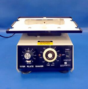 Barnstead Thermolyne Lab line Titer Plate Shaker 4625 With Timer
