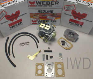 Weber Kit Fits 1986 89 Suzuki Samurai 1 3 32 36 Electric Choke W Filter Adapter