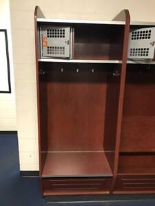 28 Professional Wood Sports Lockers Training Room Gym Locker Room Storage