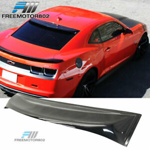Fits 10 15 Chevy Camaro 2dr Rear Window Visor Roof Spoiler Sun Guard Spoiler