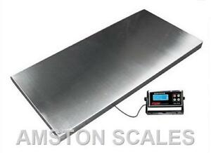 1000 X 0 5 Lb 43x20 Extra Large Digital Shipping Postal Scale Heavy Duty Steel