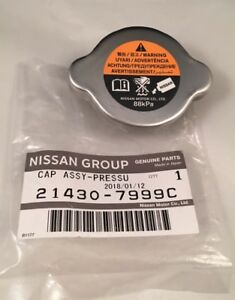 Genuine Nissan Radiator Cap 21430 7999c Fast Shipping