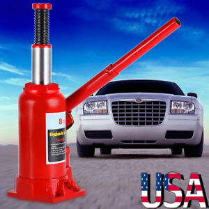 8 Ton Hydraulic Bottle Jack Lift Automotive Car Truck Caravan Tool Heavy Duty