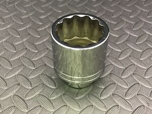 Snap on New Ldh602 1 7 8 3 4 Dr Shallow 12 point Socket 118 00 List Price