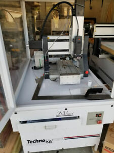 Used Techno Cnc Router mill Stepper Davinci Good Condition Updated To 4axis