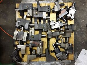 Mazak Lathe Tooling Toolholders Fixed And Live Very Nice 20 Pieces Lot Sale